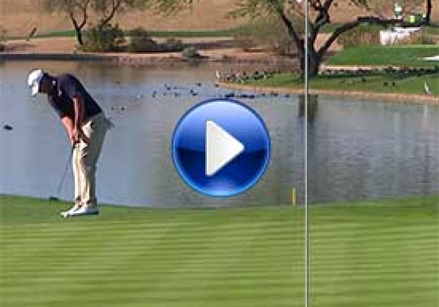 Brooks Koepka's Unlikely Eagle Putt Is The Shot of the Day