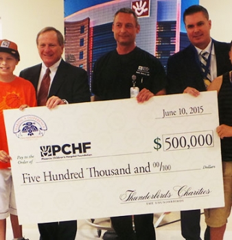 Thunderbirds Charities Donates Record $500,000 To Phoenix Children's Hospital