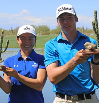 Sam Burns Holds On To Win The Thunderbird International Junior