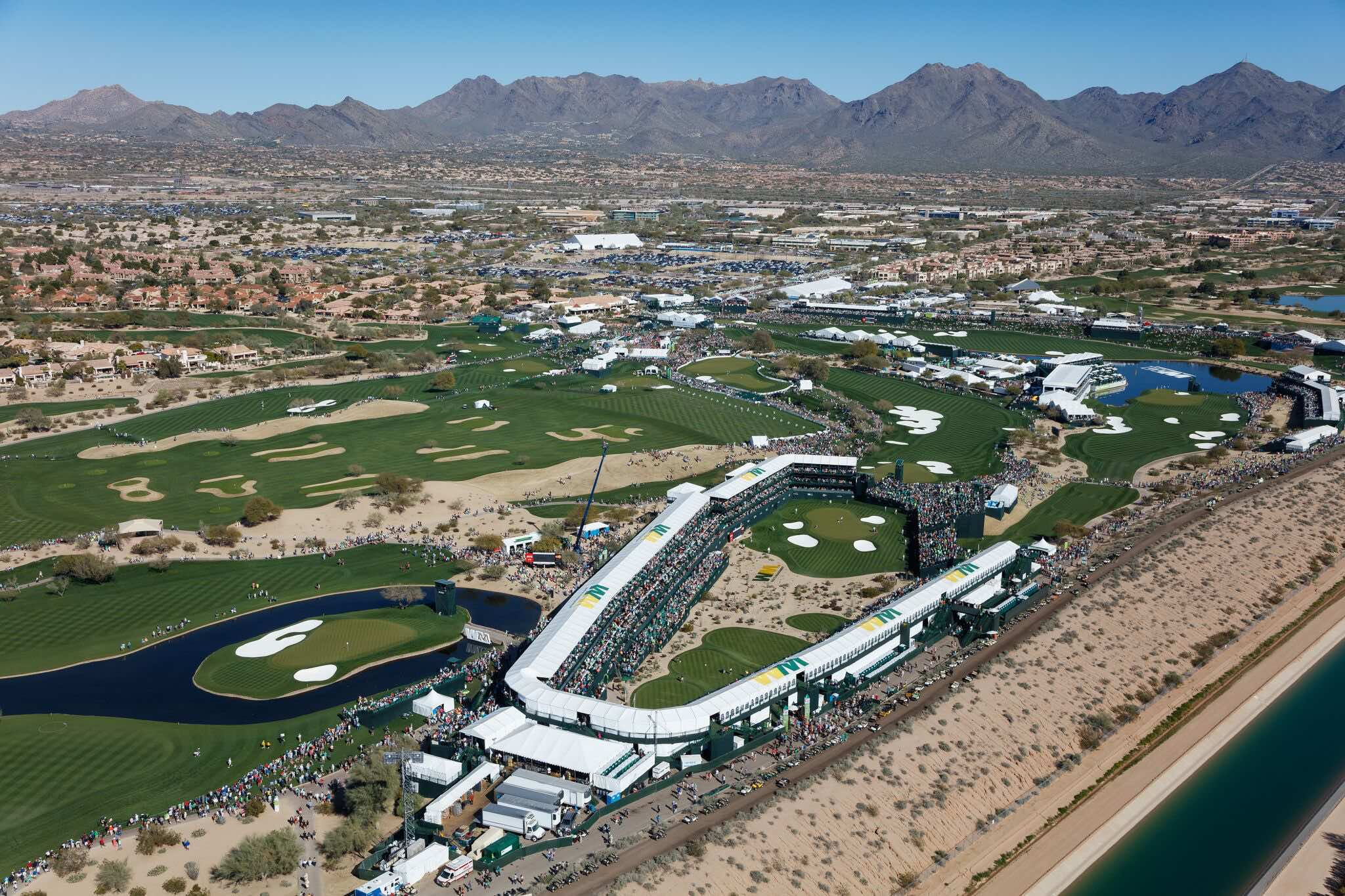 2017 Waste Management Phoenix Open First To Achieve New Sustainable