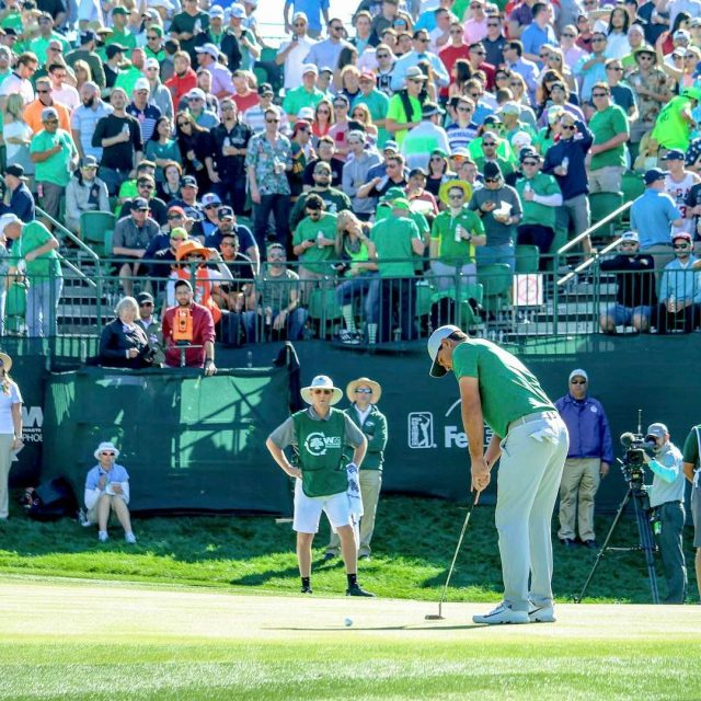 wastemanagement Phoenix Open Greenout raises over 100000 for three nonprofithellip