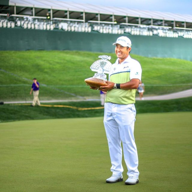 Hideki Matsuyama is your 2017 wastemanagement Phoenix Open Champion! Thishellip