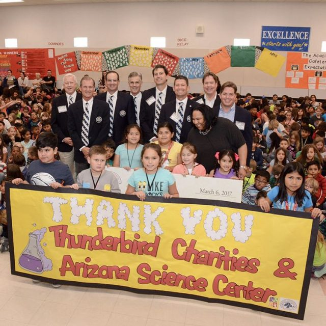 Thunderbirds Charities awarded Arizona Science Center 100000 in grant fundinghellip