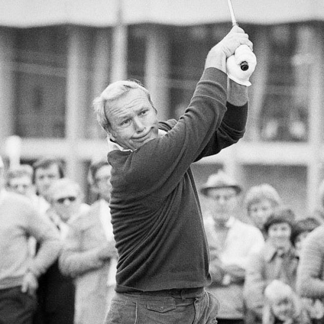 1978 Phoenix Open Arnie hits a shot at at Phoenixhellip