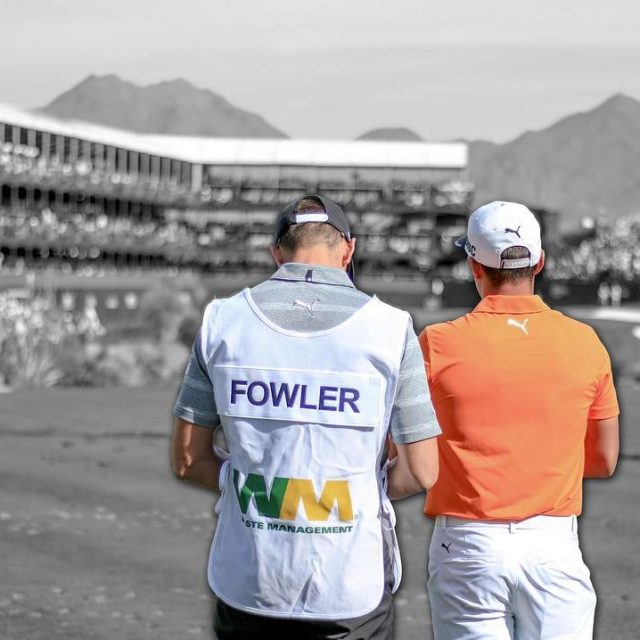 Dont look now but wastemanagement Phoenix Open fan favorite rickiefowlerhellip