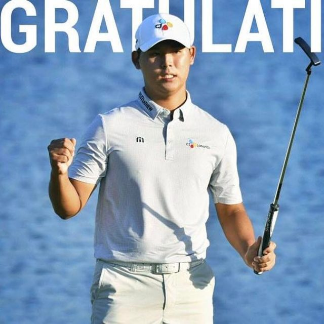 Congrats on your HUGE win at theplayerschamp Si Woo Kim!hellip