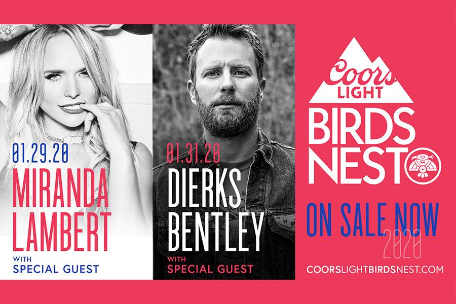 Dierks Bentley Tour 2020.Dierks Bentley Miranda Lambert To Perform At 2020 Coors