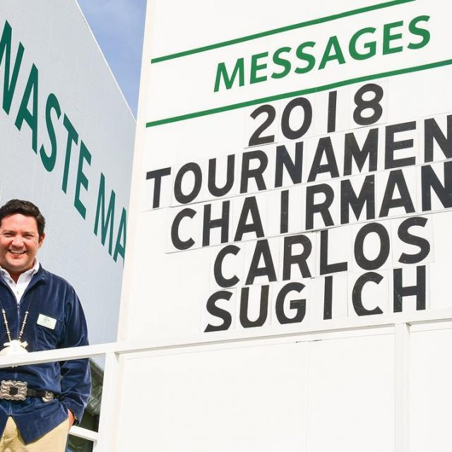 The Thunderbirds have named Carlos Sugich their 2018 wastemanagement Phoenixhellip