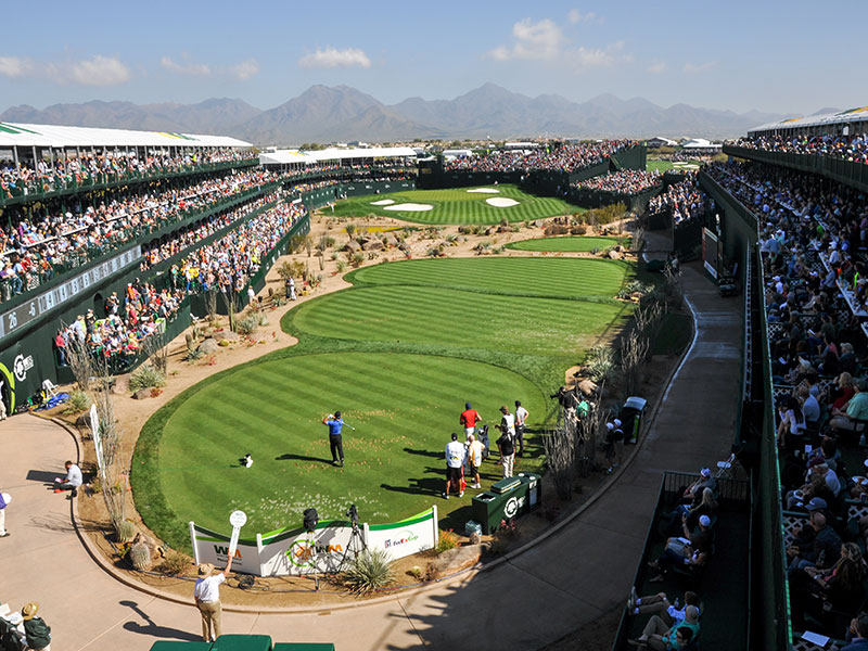 Waste Management Phoenix Open Remains The Most Technology