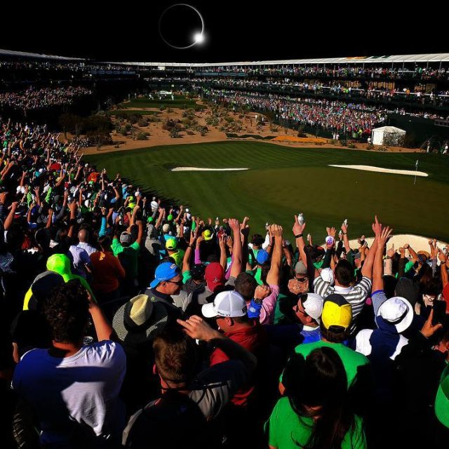 Record crowds block out sun at thepeoplesopen WMPO RESPECT greenestshowhellip