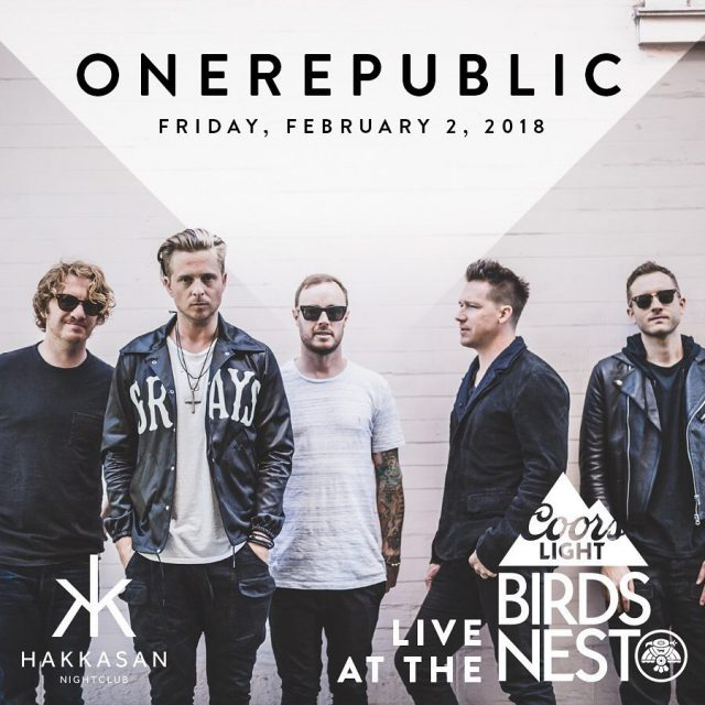 Friday Night at birdsnestphx belongs to onerepublic! click on linkhellip