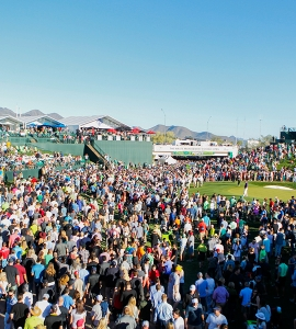 2016 Waste Management Phoenix Open Sees Record Crowds