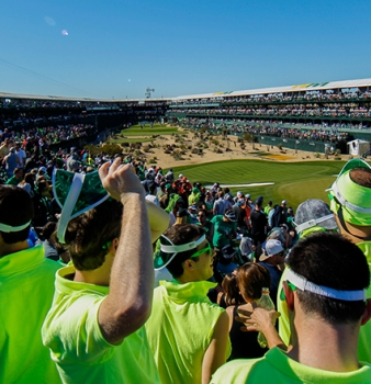 Waste Management Phoenix Open Tops 200,000 Fans<br>For Record-Breaking Single-Day Attendance