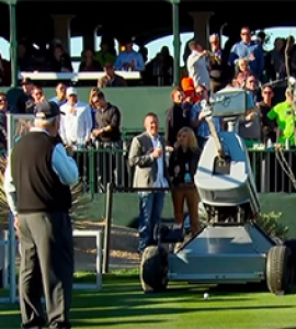 Robot Makes Hole-In-One At 16th Hole