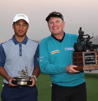 The First Tee of Phoenix Teen Clinches Pro-Junior Title during Champions Tour Event at Pebble Beach