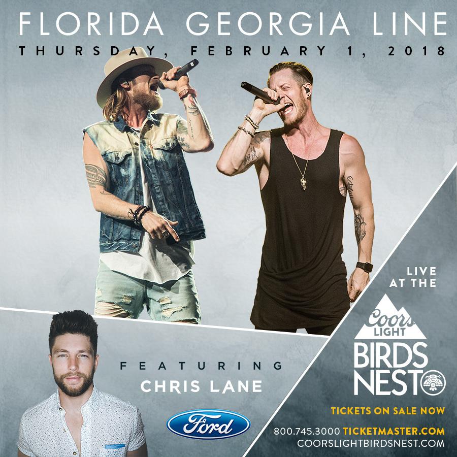 Florida Georgia Line To Headline Thursday Night Of Coors Light Birds
