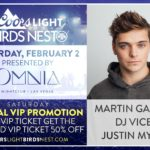 Coors Light Birds Nest Offers Special Saturday Promotion for Martin Garrix Show