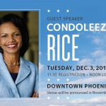 Condoleeza Rice to Headline Waste Management Phoenix Open Tee-Off Luncheon on Tuesday, Dec. 3