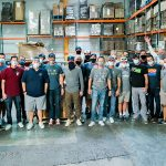 The Thunderbirds Pitch in at St. Mary's Food Bank for the Holidays
